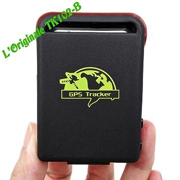 CursOnline® Nuevo GPS Tracker GPRS GSM SIM TF Card Mini localizador satélite Global TK102,