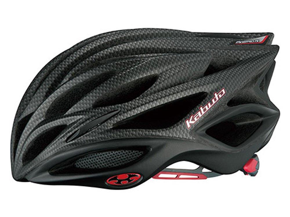 OGK KABUTO(オージーケーカブト) ヘルメット MOSTRO-R マットカーボンブラック サイズ:S/M   B00UYB1BS0