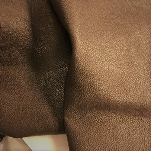 COW SKINS VARIOUS COLORS /& SIZES 12 X 24 Inches 2 Square Foot FROGJELLY LEATHER HIDES Mackai Brown