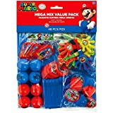 Super Mario Brothers Mega Mix Value Pack Favors, Party Favor