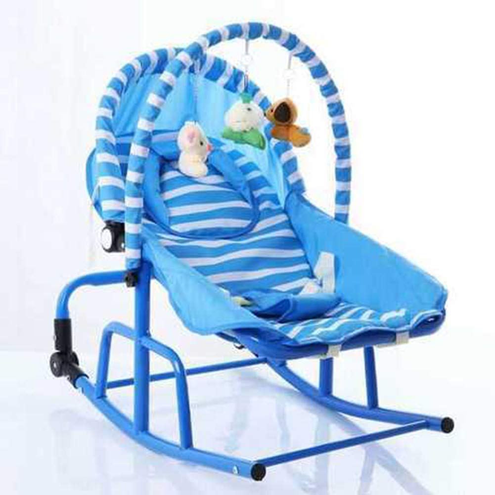 Y-BBouncer Baby Cradle Rocking Chair Reclining Chair Light Music Vibration Comfort Baby/Maternal Supplies,A by Y-BBouncer