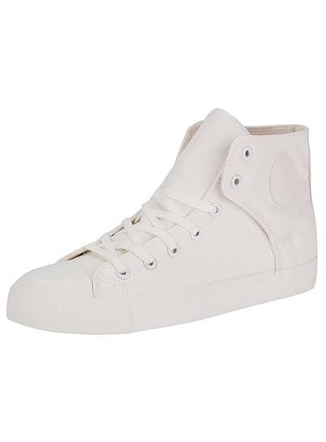 Sneakers alte con punta in gomma c9Mwb