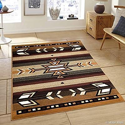 Allstar Berber Woven Traditional Southwestern Geometric Designed Area Rug