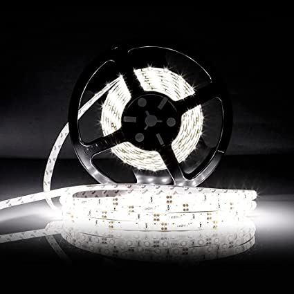Daylight Strip Lights Amazon led strip light ledmo dc12v daylight white flexible led strip light ledmo dc12v daylight white flexible lamp waterproof 2835 led tape audiocablefo