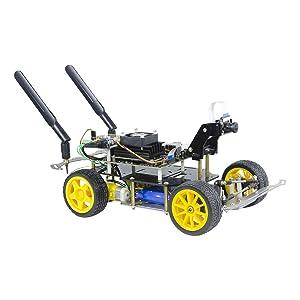 XiaoR Geek Donkey Car Starter Kit Open Source DIY Self Driving Platform for Small Scale Cars Jetson Nano AI Smart Robot Car(Upgraded Version)