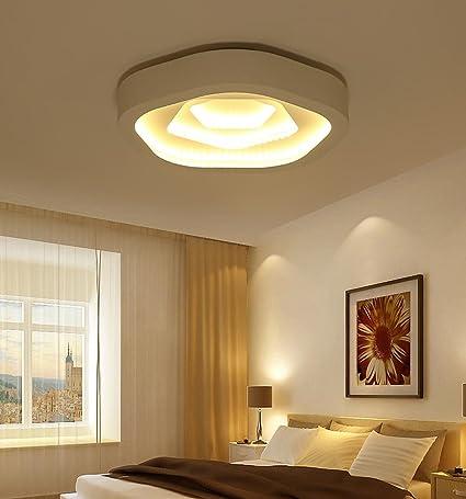 LED Diseño Moderno Plafón Tres Capas creativos Rose Flor en ...