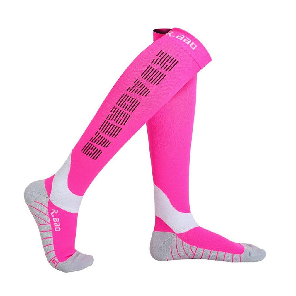 UB R-Bao Professional Night Reflective Running Performance Breathable Footwear Socks Rose by UB R-Bao