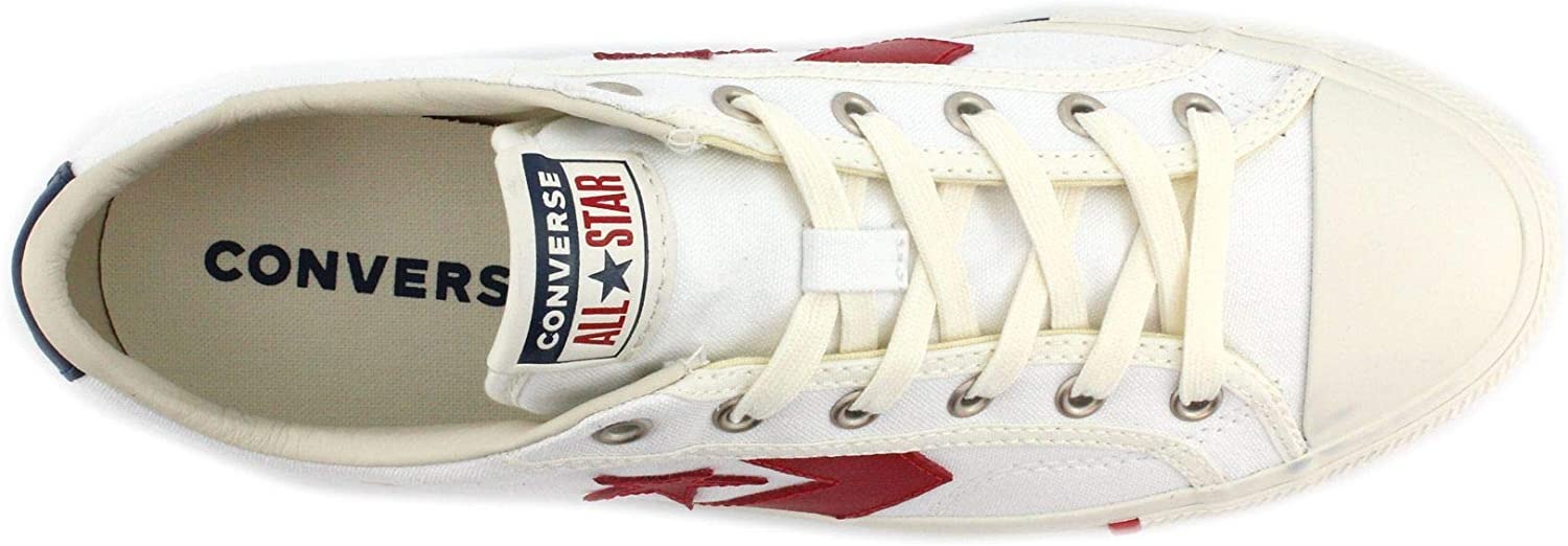 Converse Star Player Ox Whitegym Redoptic White Sneakers