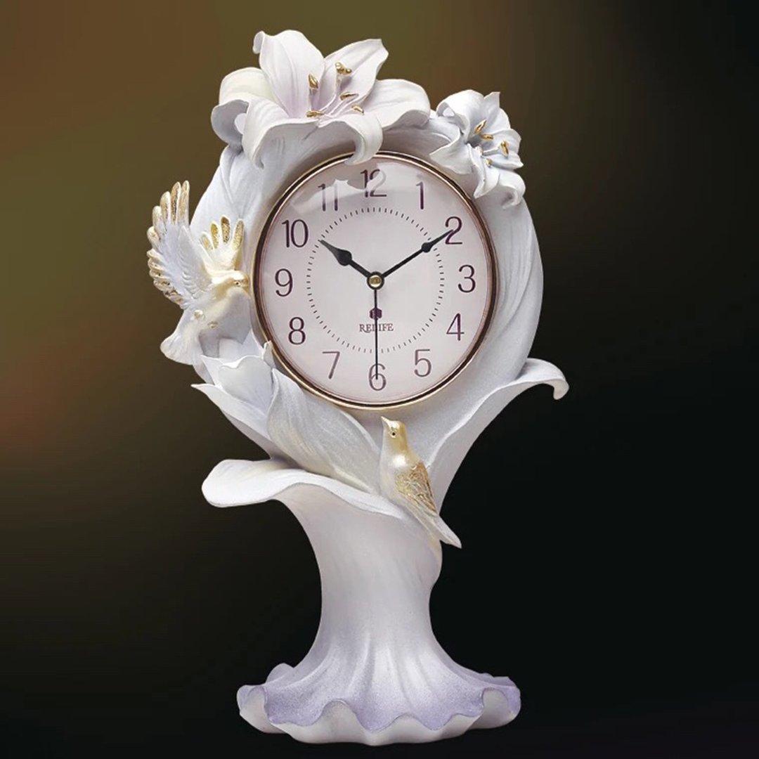 ファッション リビング 現代 シンプル シズネ おしゃれ時計ビング 立体 飾り 現代 欧風 時計 置き時計 SFANY B07CNP232Hタイプ2