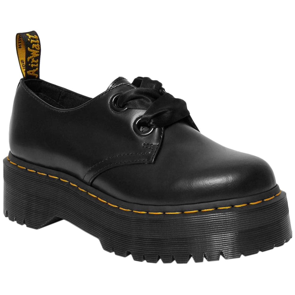 Dr.Martens Femme Holly Cuir Chaussures
