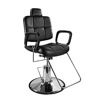 Astonishing Real Relax Adjustable Hydraulic Recline Barber Chair For Salon Shampoo Beauty Spa Black Creativecarmelina Interior Chair Design Creativecarmelinacom