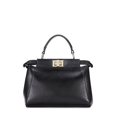 cea465f1c6 IUHA Peeka Mini The Modern Satchel Bags 2-way Handbag Crossbody Bags  Leather Bag: Handbags: Amazon.com