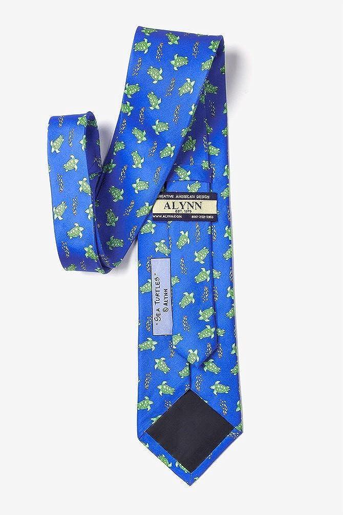 Sea Turtles Tie By Alynn Novelty In Silk