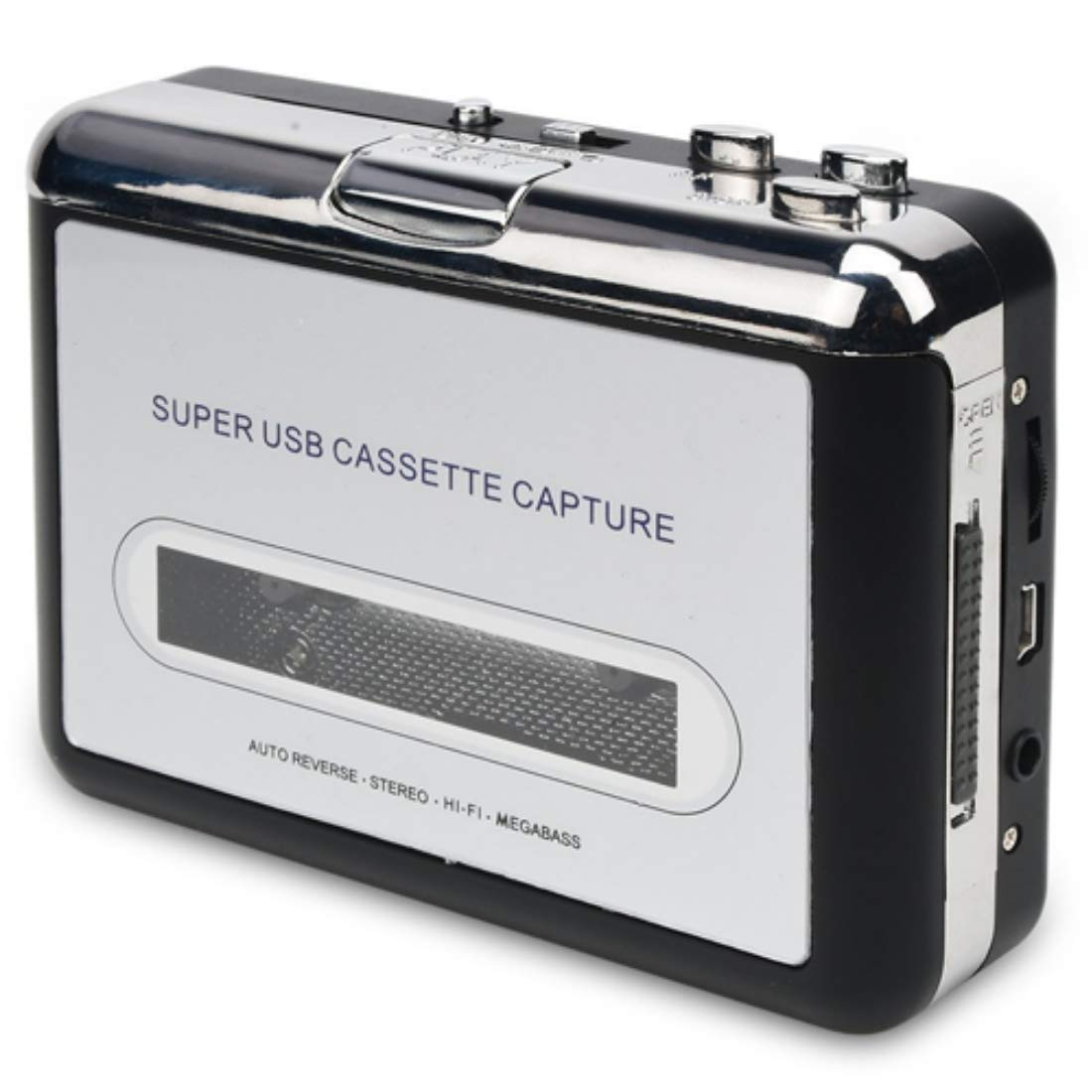 Deals Cassette to MP3 Converter, USB Cassette Player Recorder to MP3 Converter Retro Walkman Audio Converter Free Ship Deals