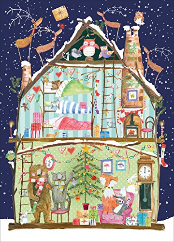 Museums & Galleries Fairy Tree Card Advent Calendar, Multicolor