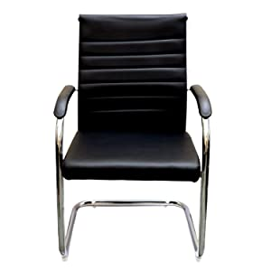 Ks Chairs Newyork Office Executive Visitor Chair in Black