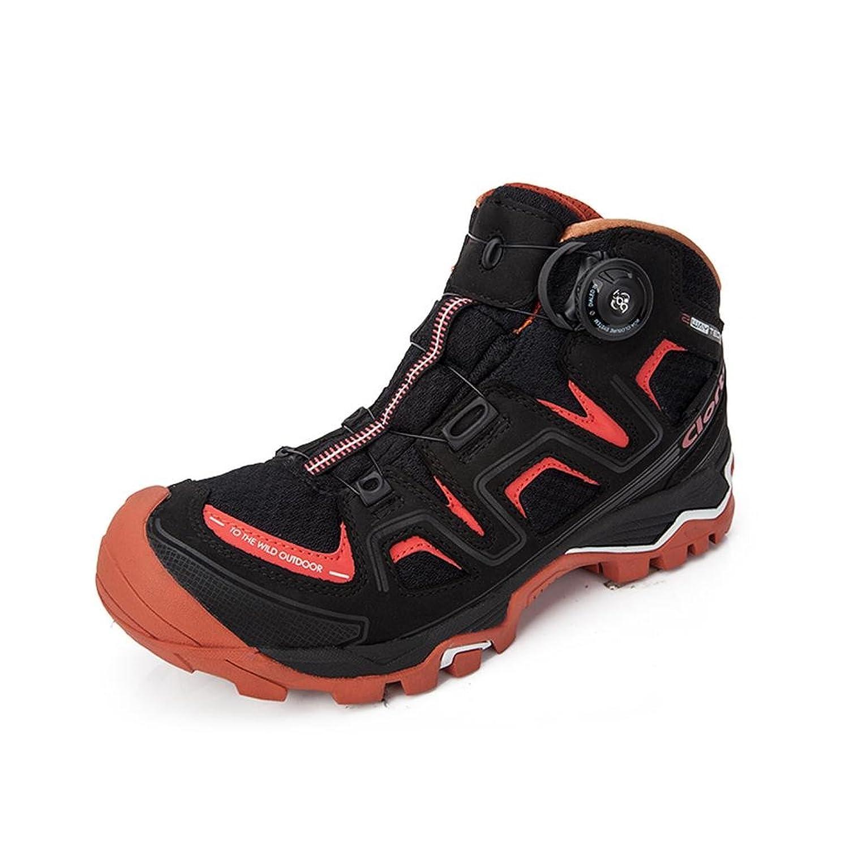 Clorts Men's BOA Nubuck Leather Waterproof Hiking Boot Outdoor Backpacking Boots 3B016B