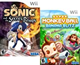 Sega Fun Pack featuring Sonic and the Secret Rings and Super Monkey Ball Banana Blitz - Nintendo Wii