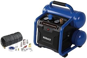 Directsale Kobalt Compresor de aire eléctrico portátil de 2 galones: Amazon.es: Bricolaje y herramientas