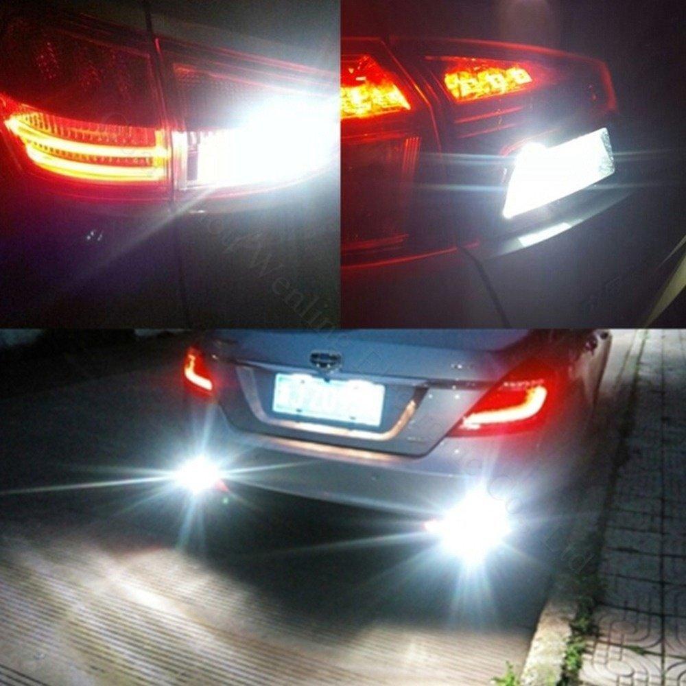 Katur 2 luci a LED CC 12 V/auto can bus LED W16W/T15/4014/CREE SMD lampadine backup LED luci di retromarcia