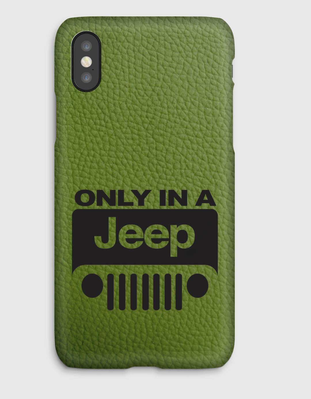 Funda para el iPhone X, 8, 8+, 7, 7+, 6S, 6, 6S+, 6+, 5C, 5, 5S, 5SE, 4S, 4, Only in a Jeep