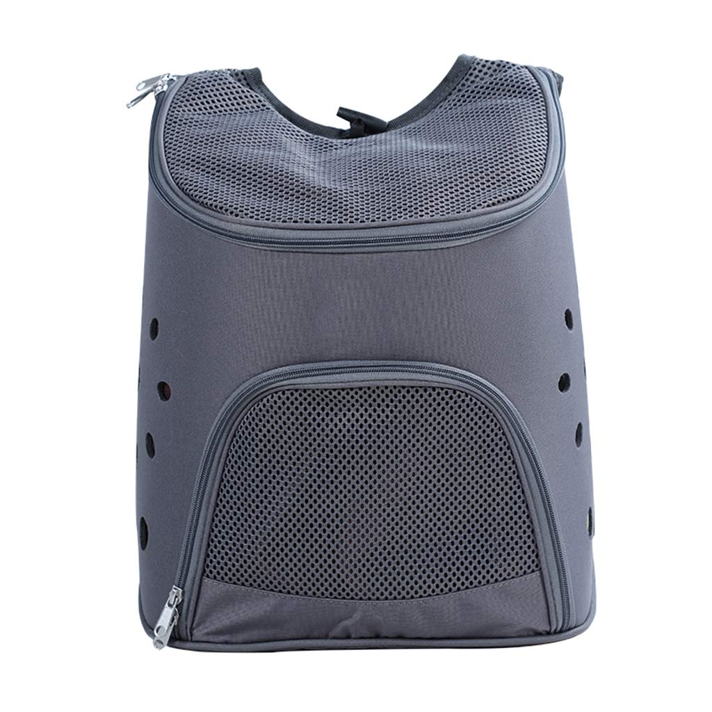 Black Junphsion Dog Cat Travel Carrier Bag Full Mesh Breathable, Portable Pet Bag Big space, Pet Backpack Strong Load Bearing Capacity Perfect for Cat and Small Dogs,Black