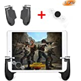 takyu Mobile Game Controller for Pad, Mobile Controller with Game Joystick, L1R1 Sensitive Aim and Shoot Gamepad Trigger for