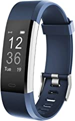 LETSCOM Fitness Tracker HR, Activity Tracker Watch with Heart Rate Monitor,
