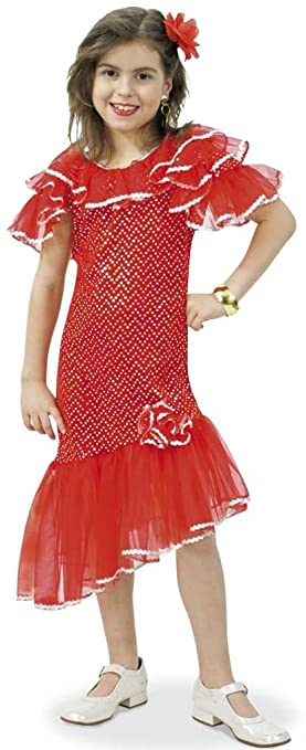 Traje español, gitano, gitano - 1 tlg. Vestir para Carnaval