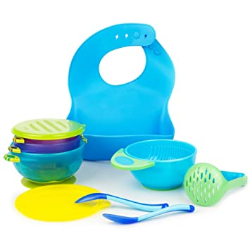Amazon baby feeding set personalized baby gifts baby baby feeding set personalized baby gifts baby products blue baby silicone bib negle Choice Image
