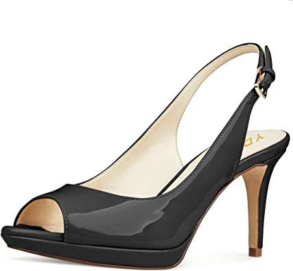 Amazon.com | YDN Women Formal Peep Toe