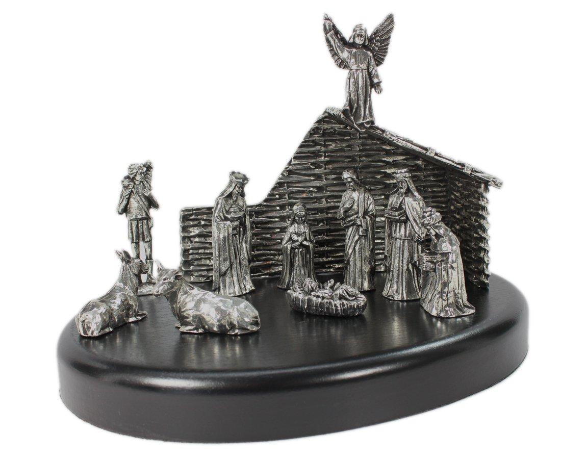 Nativity Set Pewter Made in Ireland