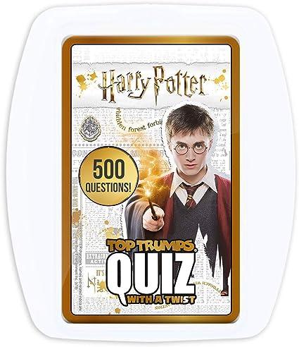 Amazon Com Harry Potter Top Trumps Quiz Game Toys Games