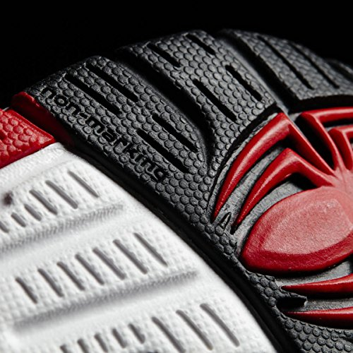 adidas Marvel Spider-Man Cf I, Sneakers Basses Mixte Enfant, Rouge (Escarl/Negbas/Ftwbla), 19 EU