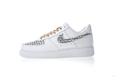 Newoffwhite Fear of God x Air Force 1 Low Retro Chaussures de Basketball  Homme Femme ef4d82905b94