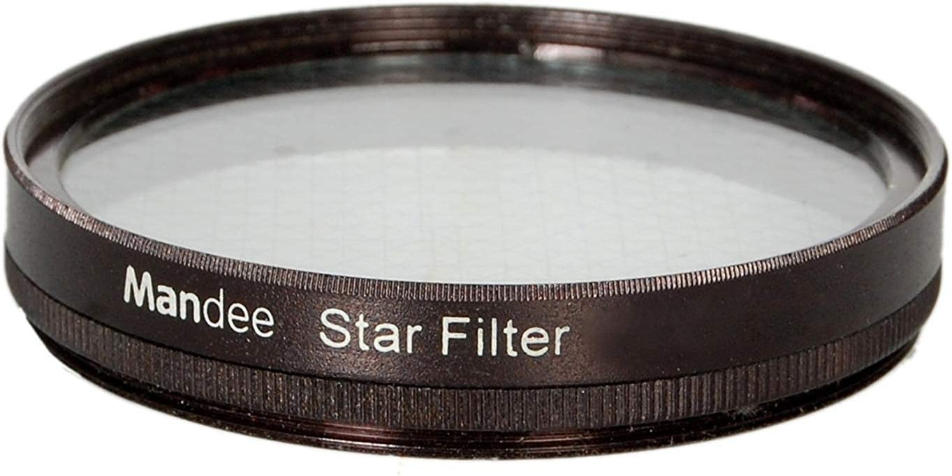 4Points Star Filter for Canon Nikon Sony Or DSLR Camera MANDEE 55Mm