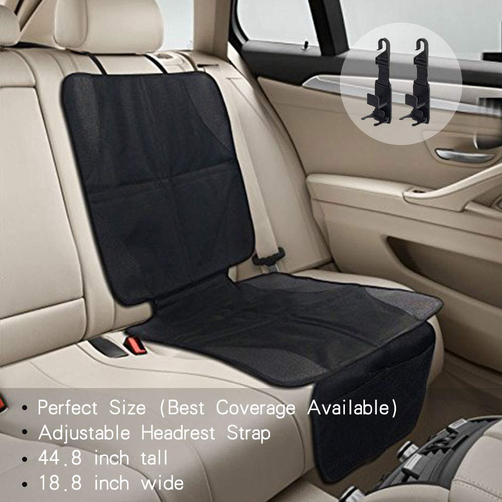 Car Seat Protector Perfect Size Best Coverage Available Child