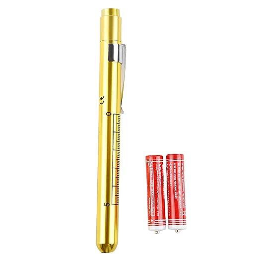 15 opinioni per SODIAL(R) Torcia Forma Penna Medico Emergenza Luce Giallo cm 14