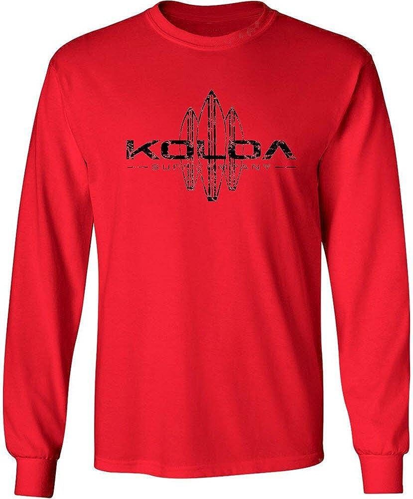 Koloa Surf Co. Vintage Surfboard Long Sleeve T-Shirts in Regular, Big and Tall