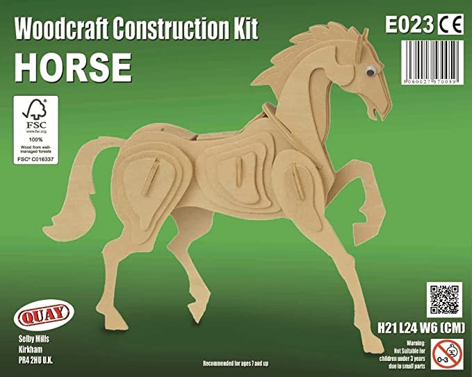1 opinioni per Horse Woodcraft Construction Kit