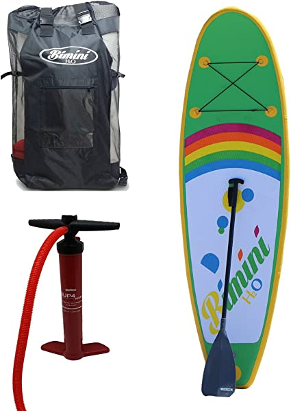 Amazon.com: Bimini H2O Inflatable Kids Stand Up Paddle Board ...