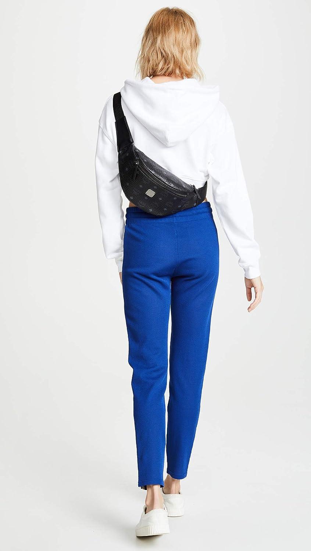 c73b466de34 Amazon.com: MCM Women's Stark Small Belt Bag, Black, One Size: Shoes