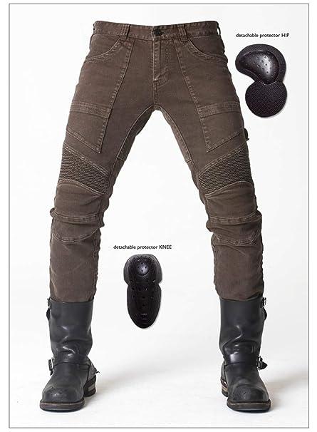BQT Pantalones para Montar en Motocicleta, Protectores para ...