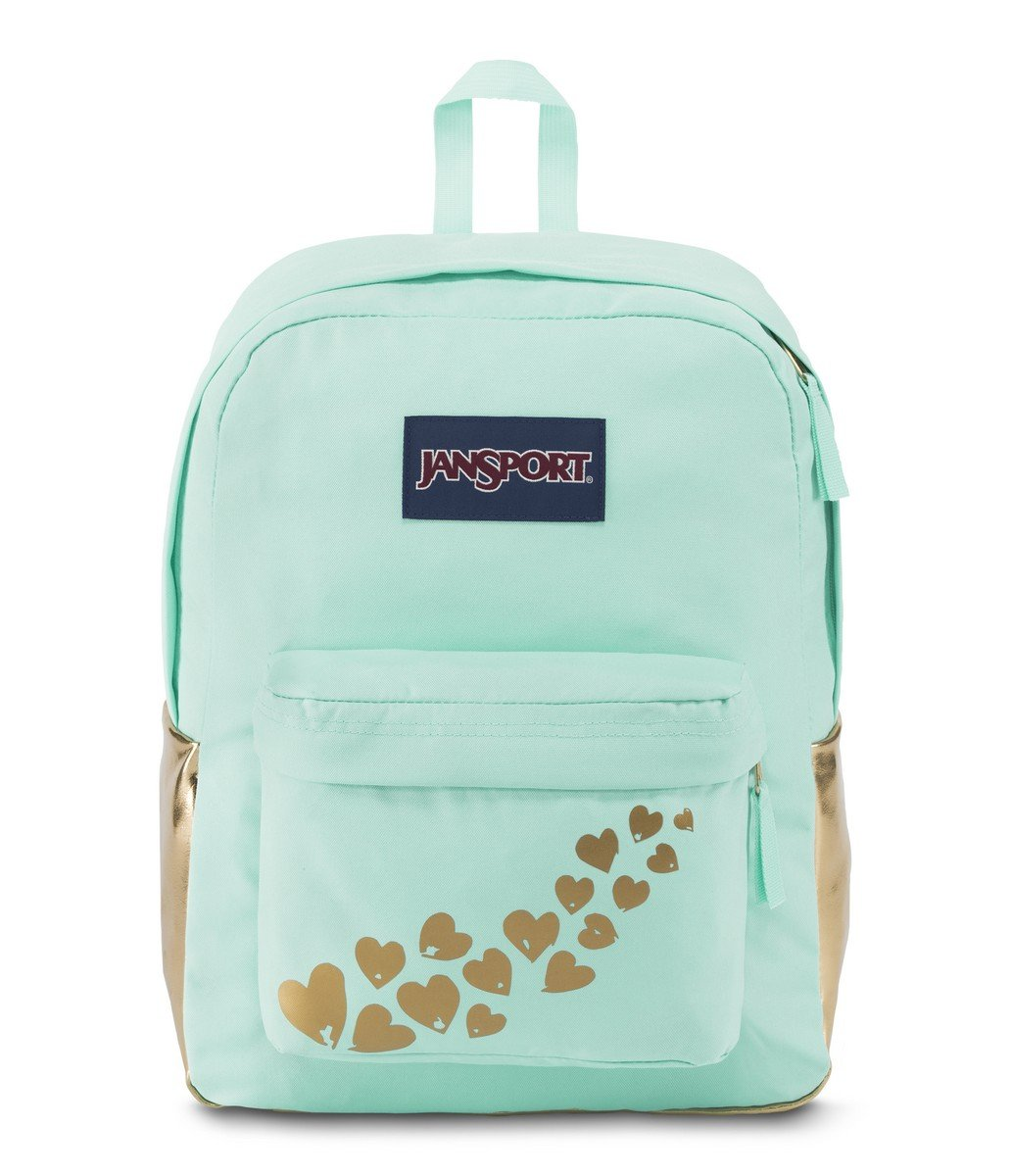 JanSport High Stakes Backpack (Gold Foiled Love),One-Size