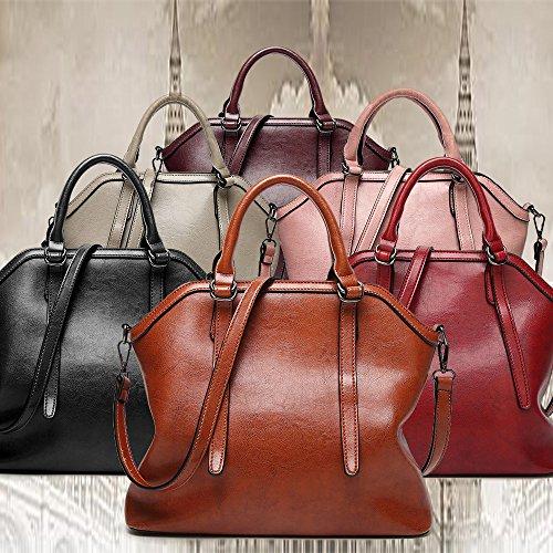 Handle Bag Bag All Handbag Tote Satchel Women FiveloveTwo Shoulder match Pink Purse 6w0vf1RqB