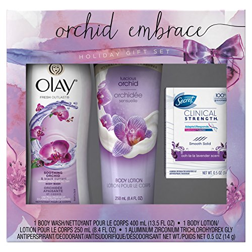 Olay Orchid Embrace Holiday Gift Set