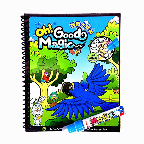 Water Coloring BookMagic Drawing BookReusable Acticity BoardOriginal Color