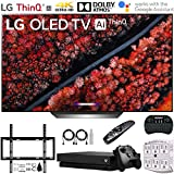 LG OLED77C9PUB 77' C9 4K HDR Smart OLED TV w/AI ThinQ (2019) + Microsoft Xbox One X 1TB + Deco Mount Flat Wall Mount Kit + 2.4GHz Wireless Keyboard w/Touchpad + 6-Outlet Surge Adapter w/Night Light