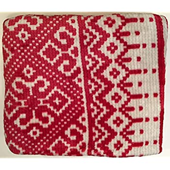 Amazon.com: Berkshire Blanket Opulence Holiday Throw, Red Fair ...