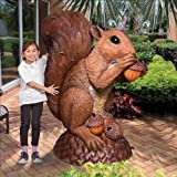 Wirral The Enormous Squirrel Statue Design Squirrel Animal Yard Lawn